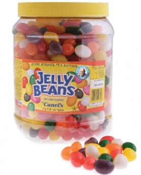 סוכריות ג'לי בינס בטעמי פירות בשלל צבעים