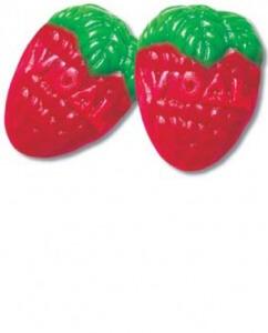 singl small strawberry